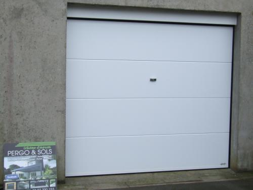 Porte de garage sylvie