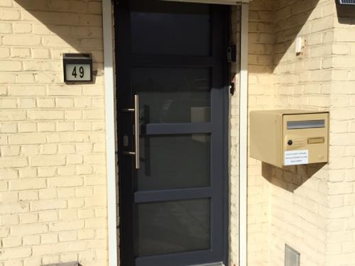 Porte entrée goubet